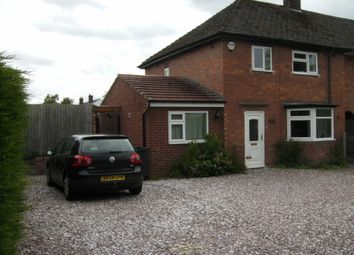 Thumbnail 4 bedroom end terrace house to rent in Woodfields, Christleton, Chester