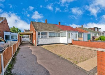 Thumbnail 2 bed semi-detached bungalow for sale in Priory Road, Rugeley