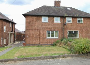Thumbnail 2 bed semi-detached house for sale in East Glade Avenue, Sheffield