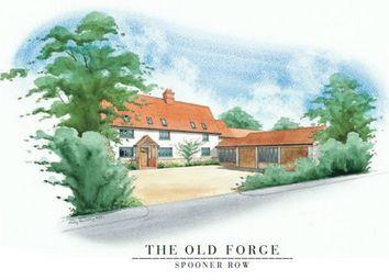 Thumbnail 4 bed detached house for sale in Bunwell Road, Spooner Row, Wymondham, Norfolk, Norfolk