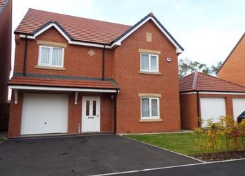 Thumbnail 4 bed detached house to rent in Harvey Avenue, Newton Hall, Durham