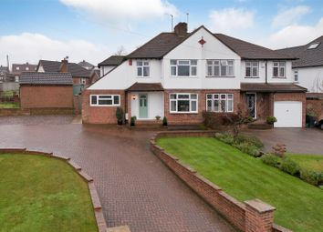 Thumbnail 3 bed semi-detached house for sale in Fernleigh Rise, Ditton, Aylesford