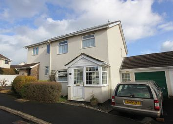 Thumbnail 3 bed semi-detached house for sale in Fox Tor Close, Hookhills, Paignton