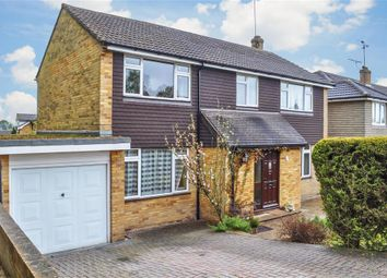 Thumbnail 4 bed detached house for sale in Burns Way, East Grinstead, West Sussex
