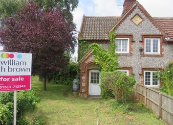 Thumbnail 2 bed cottage for sale in Weybourne Road, Bodham, Holt