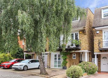 Thumbnail 4 bed town house for sale in Churchfields, London