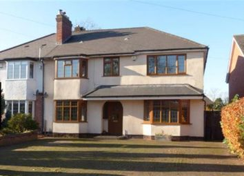 Thumbnail 5 bed semi-detached house for sale in Green Lanes, Wylde Green, Sutton Coldfield