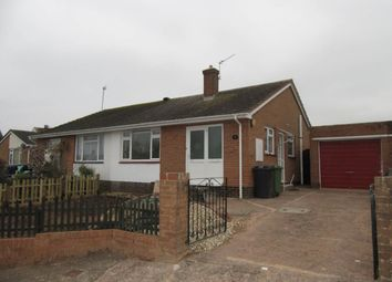 Thumbnail 2 bed semi-detached bungalow to rent in Sedgeclaire Close, Pinhoe, Exeter