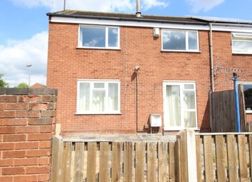 Thumbnail 2 bed semi-detached house for sale in Kent Close, Worksop