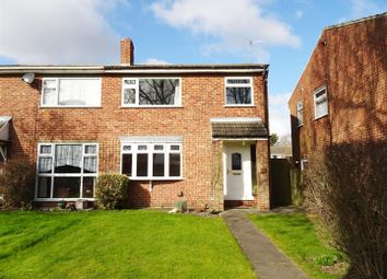 3 bed semi-detached house for sale in Manor Gardens, Shepshed, Leicestershire LE12