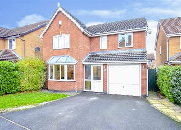 Thumbnail 4 bed detached house for sale in Crown Close, Long Eaton, Nottingham