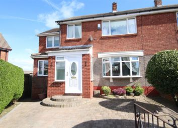 Thumbnail 5 bedroom semi-detached house for sale in Dunelm Drive, West Boldon, East Boldon
