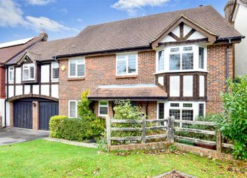 Thumbnail 5 bed link-detached house for sale in Moat Farm, Tunbridge Wells, Kent
