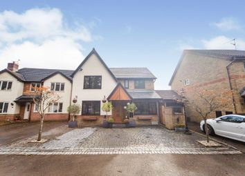 Thumbnail 4 bed detached house for sale in Chestnut Close, Machen, Caerphilly