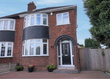Thumbnail 3 bed semi-detached house for sale in Scott Avenue, Wednesbury