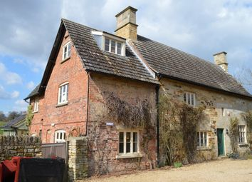 Thumbnail 4 bed cottage to rent in Croxton Kerrial, Grantham
