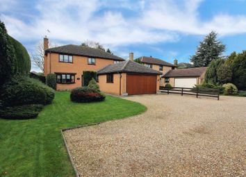 Thumbnail 4 bed detached house for sale in Bourne Road, Thurlby, Bourne