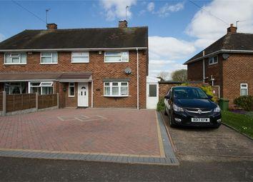 Thumbnail 3 bed semi-detached house for sale in Burcot Avenue, Wolverhampton, West Midlands