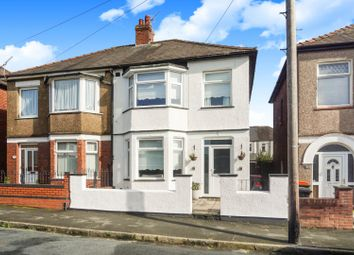Thumbnail 3 bed semi-detached house for sale in Hawarden Road, Newport