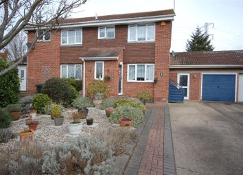 Thumbnail 3 bed semi-detached house for sale in Brent Avenue, South Woodham Ferrers, Essex