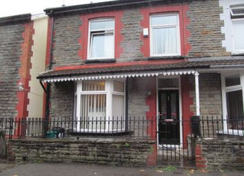 Thumbnail 3 bed end terrace house for sale in Ystrad -, Pentre