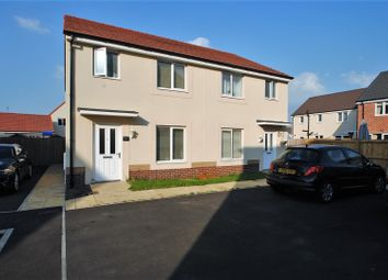 Thumbnail 3 bed semi-detached house for sale in Jewel Close, Kings Down, Bridgwater