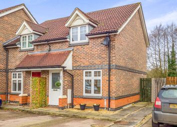 Thumbnail 2 bedroom end terrace house for sale in Barleyfield Road, Horsford, Norwich