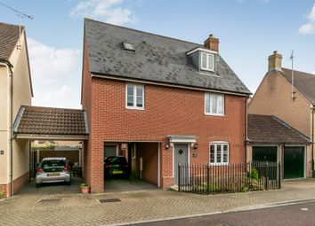 Thumbnail 3 bed detached house for sale in Agnes Silverside Close, Colchester