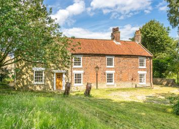 Thumbnail 8 bed equestrian property for sale in Oulston, York