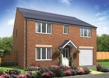 "Thumbnail 5 bed detached house for sale in ""The Tiverton "" at Churchfields, Hethersett, Norwich"