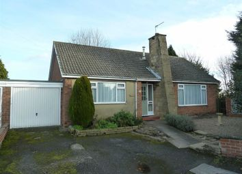 Thumbnail 3 bed detached bungalow for sale in Anson Grove, Cawood