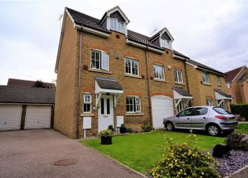 Thumbnail 4 bed end terrace house for sale in Guinness Drive, Wainscott, Rochester