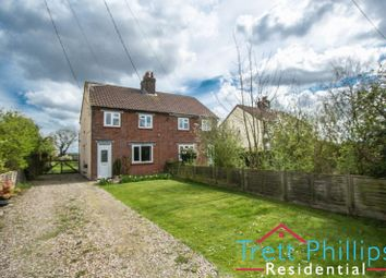 Thumbnail 3 bedroom semi-detached house for sale in School Common Road, Happisburgh, Norwich