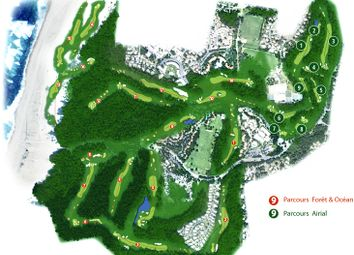 Thumbnail Land for sale in Refugio, 25km Hossegor, Moliets International Golf Course Gated Community, France