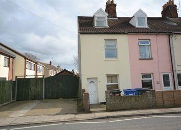Thumbnail 3 bedroom end terrace house for sale in Oulton Street, Oulton, Lowestoft