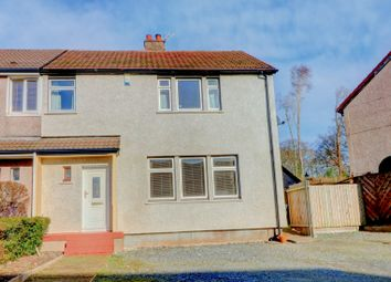 3 bed semi-detached house for sale in Dercongal Road, Holywood, Dumfries DG2