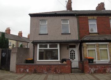 Thumbnail 2 bed end terrace house for sale in Halstead Street, Newport