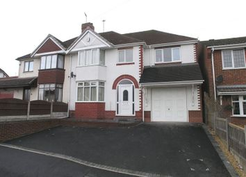 Thumbnail 4 bedroom semi-detached house for sale in Stourbridge, Wollaston, Gerald Road