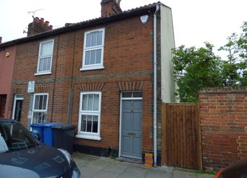Thumbnail 2 bedroom end terrace house to rent in Cemetery Road, Ipswich