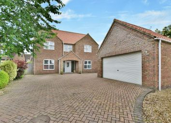 Thumbnail 5 bed detached house for sale in Poachers Meadow, Nettleham, Lincoln