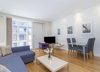 Thumbnail 1 bed flat to rent in Hirst Court, Grosvenor Waterside, 20 Gatliff Road, London