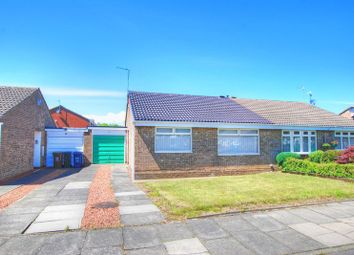 Thumbnail 2 bed semi-detached bungalow for sale in Urswick Court, Newcastle Upon Tyne