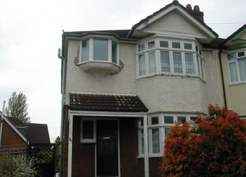 Thumbnail 3 bed detached house to rent in Welbeck Avenue, Southampton