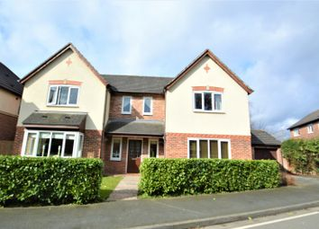 Thumbnail 5 bed detached house for sale in Clover Drive, Pickmere, Knutsford