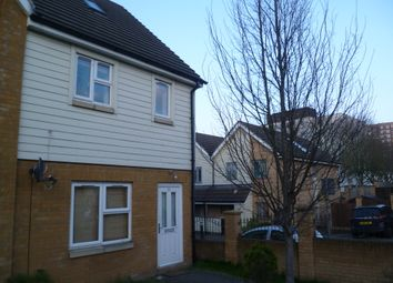 Thumbnail 3 bedroom end terrace house to rent in Albert Gardens, Luton