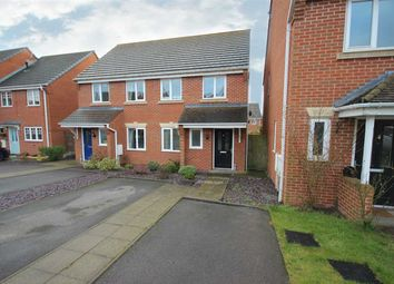 Thumbnail 2 bed semi-detached house for sale in Bannock Street, Weston Coyney, Stoke-On-Trent