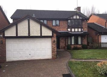 Thumbnail 4 bed detached house to rent in Stockbridge Close, Wightwick, Wolverhampton