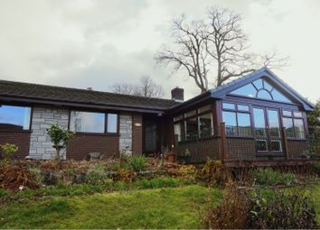 Thumbnail 3 bed detached bungalow for sale in School Lane, Llandinam, Newtown