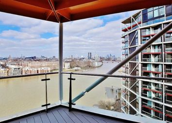 Thumbnail 2 bed flat to rent in Two Riverlight Quay, Nine Elms, London
