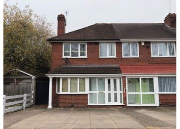 Thumbnail 3 bed semi-detached house to rent in Thornbridge Avenue, Birmingham